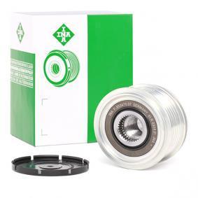 Golf V Хечбек (1K1) INA Ремъчна шайба алтернатор 535 0012 10