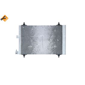 Kondensator, Klimaanlage NRF Art.No - 35414 OEM: 6455AT für PEUGEOT, CITROЁN, VOLVO, PIAGGIO, DS kaufen