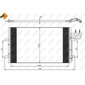 3M5H19710CA für FORD, VOLVO, FORD USA, Kondensator, Klimaanlage NRF (35551) Online-Shop