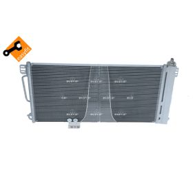 NRF Kondensator, Klimaanlage 2205000754 für MERCEDES-BENZ, VOLVO bestellen