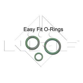 NRF Kondensator, Klimaanlage A2205000054 für MERCEDES-BENZ, VOLVO bestellen