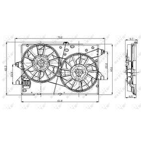 Kühlerventilator 47003 NRF