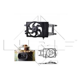 Cooling fan assembly 47243 NRF