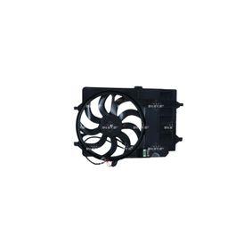 NRF Fan, radiator with radiator fan shroud