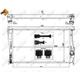 NRF BMW 1er Wasserkühler (53472)