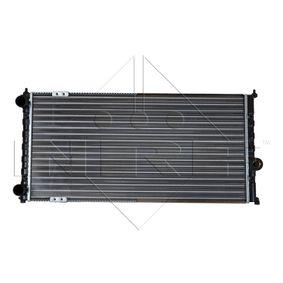 Ψυγείο, ψύξη κινητήρα NRF Art.No - 54687 OEM: 6K0121253A για VW, SEAT, AUDI, SKODA, VOLVO αποκτήστε