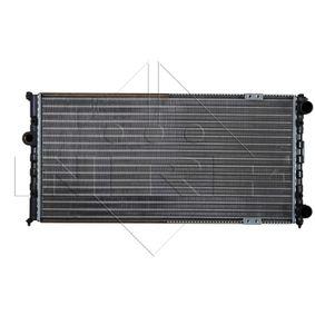 Ψυγείο, ψύξη κινητήρα NRF Art.No - 58095 OEM: 6K0121253G για VW, SEAT, SKODA, VOLVO αποκτήστε