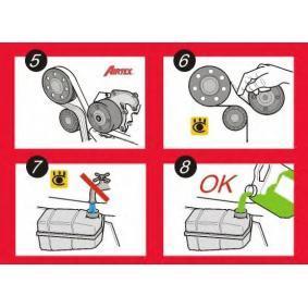 3637192 für OPEL, PEUGEOT, VAUXHALL, Wasserpumpe AIRTEX (5023) Online-Shop