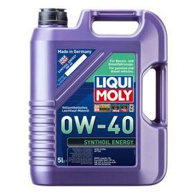 SAE-0W-40 Aceite motor del LIQUI MOLY 1361 recambios de calidad
