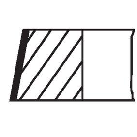 OPEL CORSA 1.2 75 PS ab Baujahr 09.2000 - Kolbenringsatz (011 84 N0) MAHLE ORIGINAL Shop