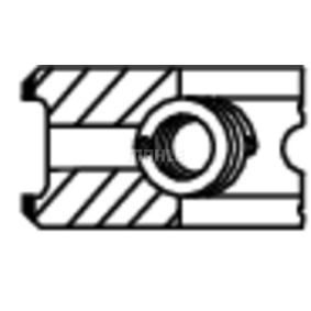 Kolbenringsatz MAHLE ORIGINAL Art.No - 014 20 N0 OEM: 6180079 für FORD kaufen