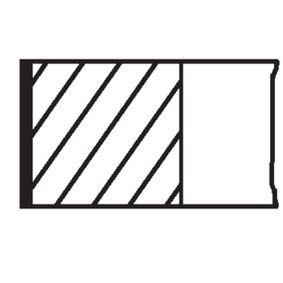 Kolbenringsatz MAHLE ORIGINAL Art.No - 014 20 N0 OEM: 6130081 für FORD kaufen