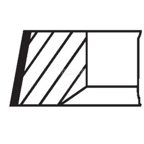 MAHLE ORIGINAL Kolbenringsatz 6130081 für FORD bestellen
