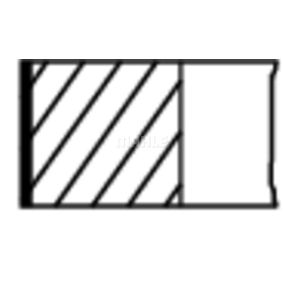 6130081 für FORD, Kolbenringsatz MAHLE ORIGINAL (014 20 N0) Online-Shop