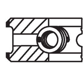 VW TOURAN (1T1, 1T2) MAHLE ORIGINAL Zylinder/Kolben 030 55 N3 bestellen