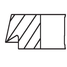 MAHLE ORIGINAL Kolbenringsatz 11251727461 für BMW bestellen
