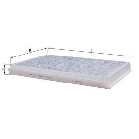 MAHLE ORIGINAL LAK 307 Filter, Innenraumluft OEM - 2E0819021F VW, VAG, PURFLUX, DENSO, METELLI günstig