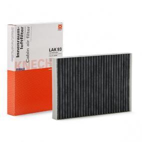Filter, Innenraumluft MAHLE ORIGINAL Art.No - LAK 93 OEM: 8E0819439C für VW, AUDI, SKODA, SEAT, HONDA kaufen