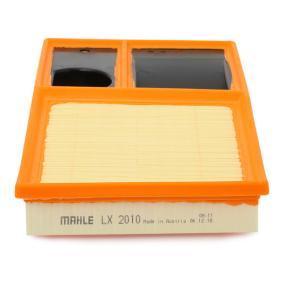 MAHLE ORIGINAL LX 2010 Luftfilter OEM - 036129620J AUDI, SEAT, SKODA, VW, VAG, KNECHT, METELLI, FILTRON, DIEDERICHS günstig
