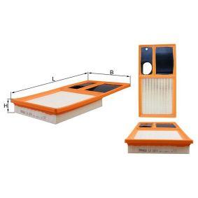 MAHLE ORIGINAL Luftfilter (LX 2010) niedriger Preis