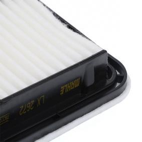 MAHLE ORIGINAL Motorluftfilter LX 2672