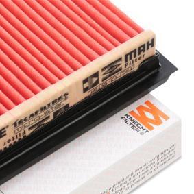 MAHLE ORIGINAL SUBARU IMPREZA Luftfilter (LX 307)