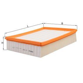 MAHLE ORIGINAL Luftfilter (LX 537) niedriger Preis