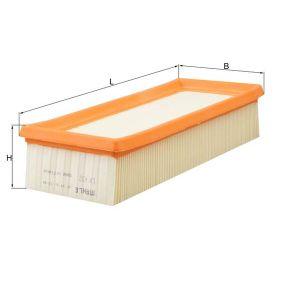 MAHLE ORIGINAL Въздушен филтър LX 632