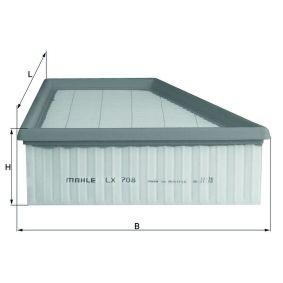 MAHLE ORIGINAL Luftfilter (LX 708) niedriger Preis