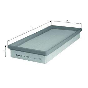 Luftfilter MAHLE ORIGINAL Art.No - LX 799 OEM: 3785586 für FORD kaufen