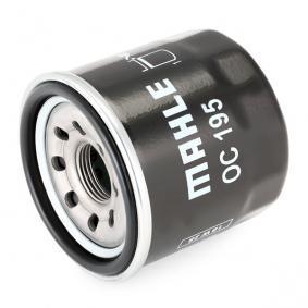 MAHLE ORIGINAL OC 195 Маслен филтър OEM - 15208AA020 NISSAN, SUBARU евтино