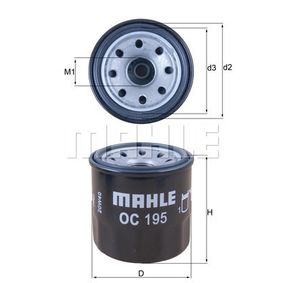 MAHLE ORIGINAL Frontgerüst (OC 195)