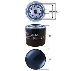 MAHLE ORIGINAL NISSAN PATHFINDER Sistema de ventilación del cárter (OC 236)