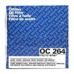 MAHLE ORIGINAL Oil Filter OC 264