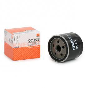 60621890 for FIAT, ALFA ROMEO, LANCIA, Oil Filter MAHLE ORIGINAL (OC 272) Online Shop