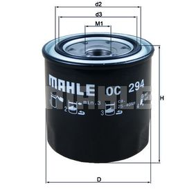 MAHLE ORIGINAL TOYOTA RAV 4 Crankcase breather (OC 294)