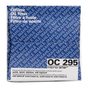 MAHLE ORIGINAL Olajszűrő OC 295
