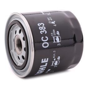 MAHLE ORIGINAL OC 383 Filtre à huile OEM - 4160703 ALFA ROMEO, FIAT, IVECO, LANCIA, ALFAROME/FIAT/LANCI, FSO, LAND ROVER, SAMPA à bon prix