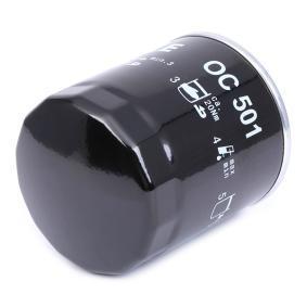 4228326 pour FIAT, ALFA ROMEO, LANCIA, Filtre à huile MAHLE ORIGINAL (OC 501) Boutique en ligne