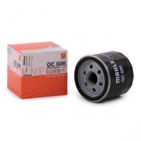 2 (DY) MAHLE ORIGINAL Oil filter OC 606