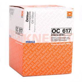 MAHLE ORIGINAL OC 617 Ölfilter OEM - 15400PLMA02 HONDA, ACURA, HONDA (DONGFENG) günstig