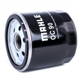 MAHLE ORIGINAL OC 90 Ölfilter OEM - 93183723 GMC, OPEL, SAAB, VAUXHALL, CHEVROLET, DAEWOO, GENERAL MOTORS, HOLDEN, TVR günstig