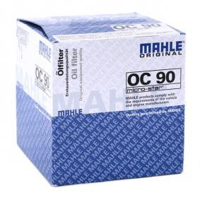 MAHLE ORIGINAL OPEL ASTRA Correa trapezoidal (OC 90)