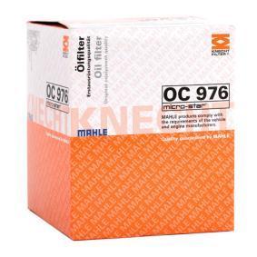 MAHLE ORIGINAL PEUGEOT 407 Sistema de ventilación del cárter (OC 976)