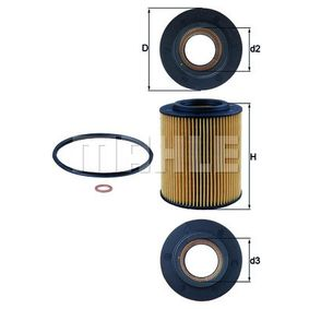 MAHLE ORIGINAL Lagerung Radlagergehäuse OX 154/1D
