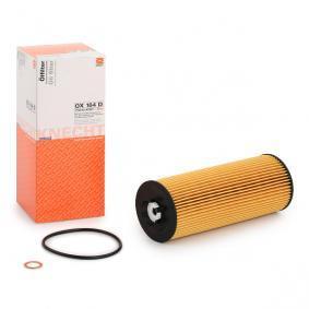 MAHLE ORIGINAL OX 164D Ölfilter OEM - 059115561A AUDI, SEAT, SKODA, VW, VAG, SAMPA, eicher günstig