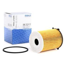 2 (DY) MAHLE ORIGINAL Oil filter OX 171/2D