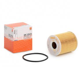 MAHLE ORIGINAL OX 175D Oil Filter OEM - 55213927 FIAT cheaply