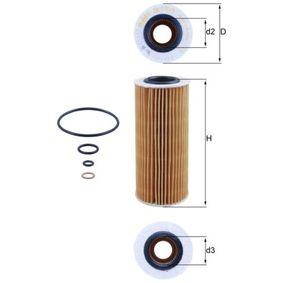 MAHLE ORIGINAL Motorölfilter (OX 177/3D)