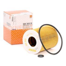 3 (BK) MAHLE ORIGINAL Filtro de aire OX 203D